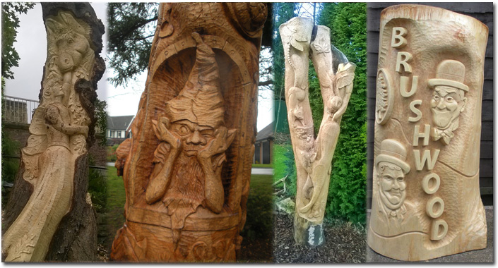 wood carving bespoke