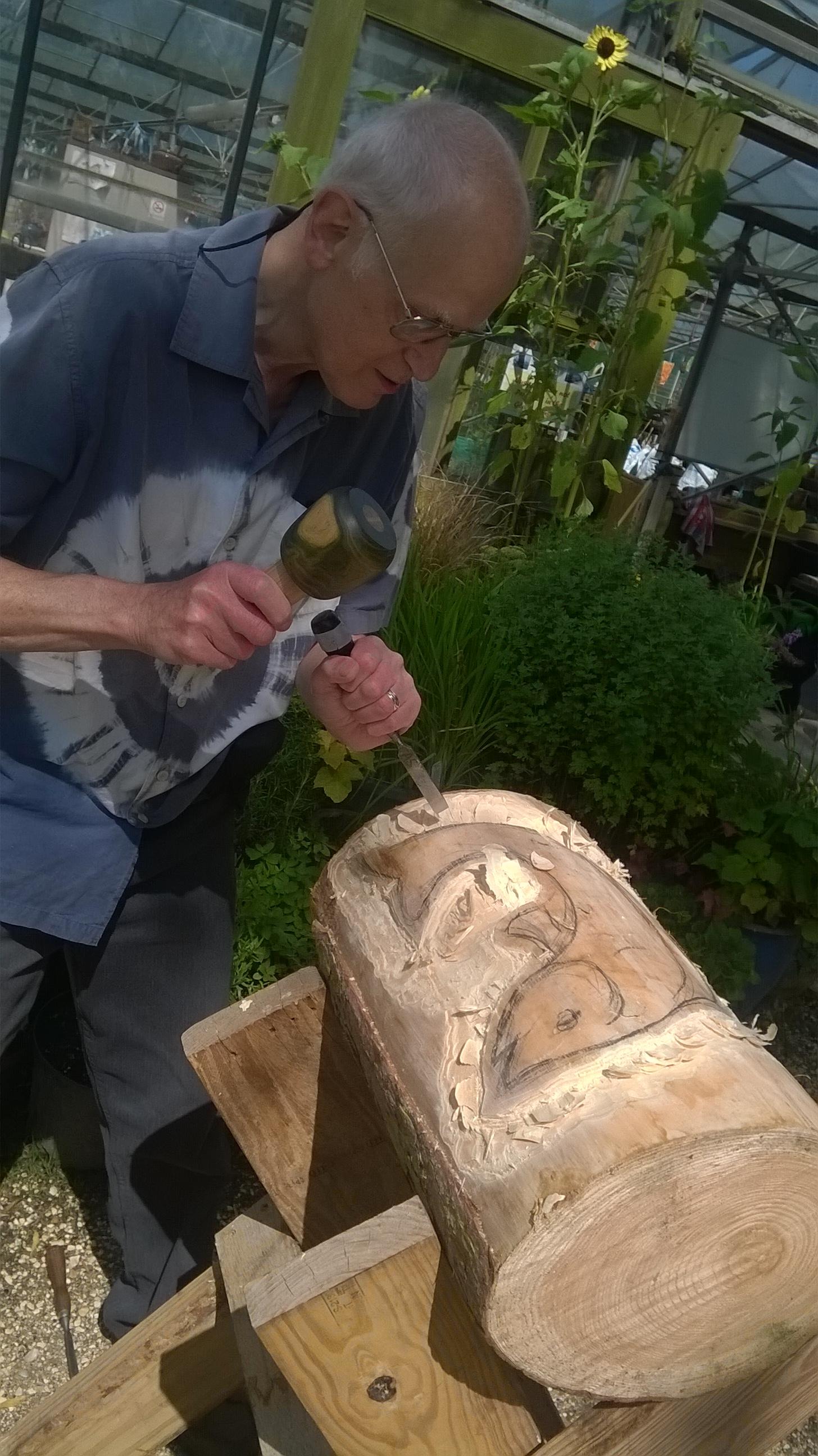 « allen stichler u wood carving
